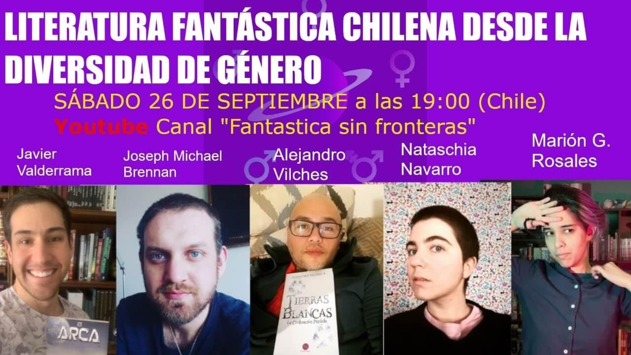 Literatura Fantastica chilena desde la diversidad de género